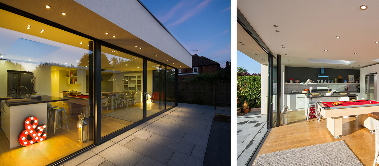 gyd architecture | internal and external patio areas