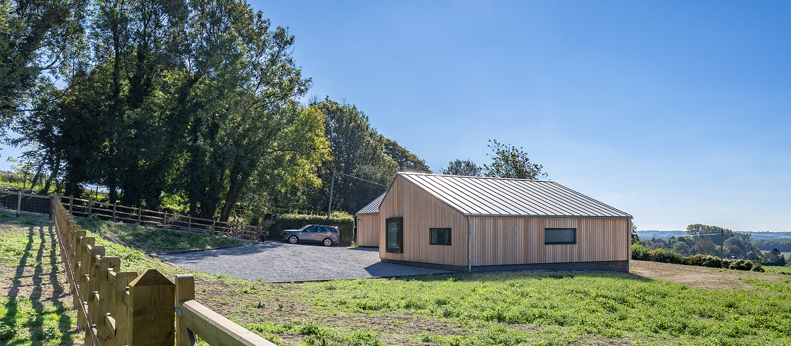 gyd architecture | completed zinc roof