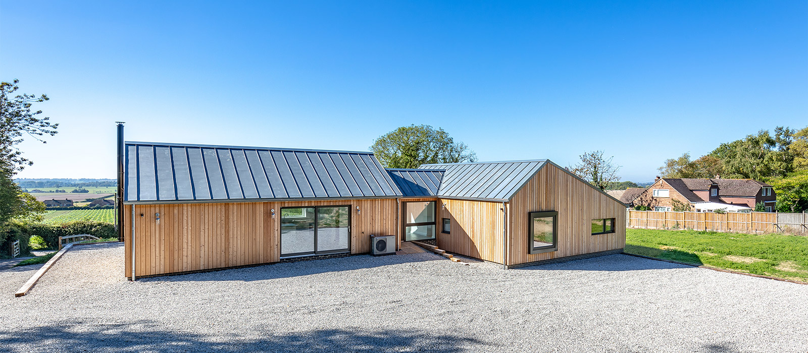 gyd architecture   new house with natural material finishes