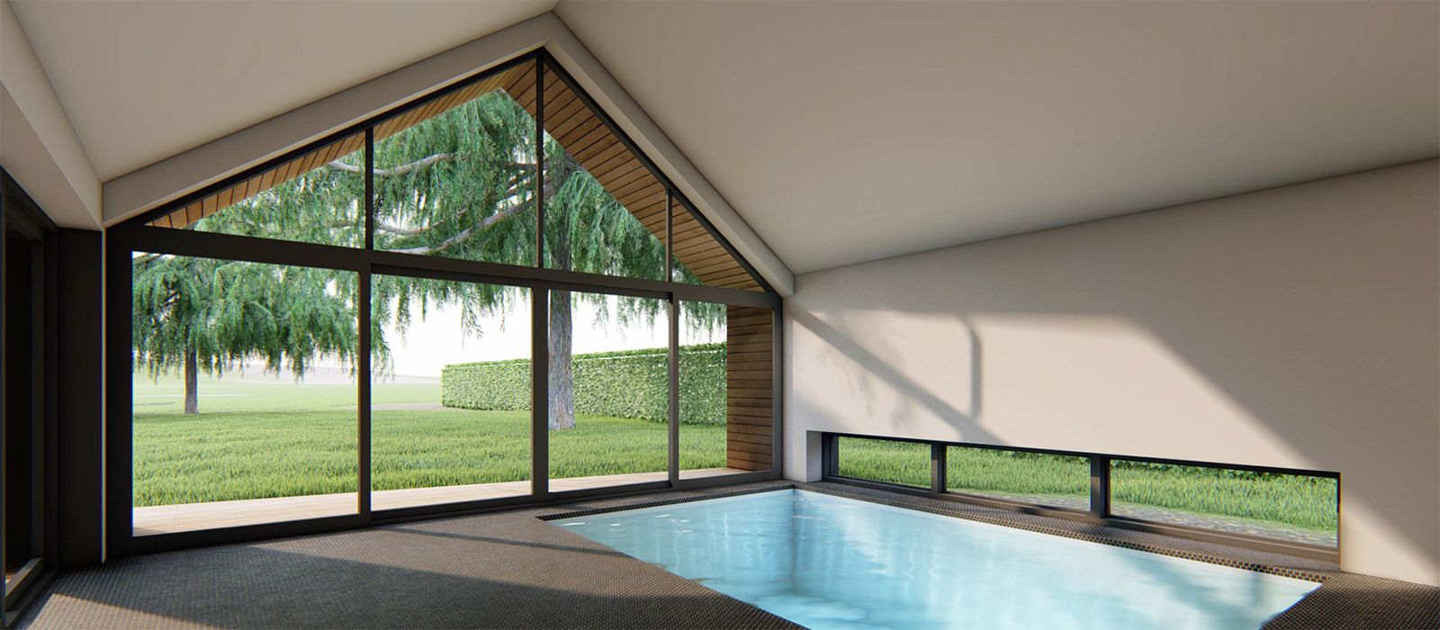 gyd-architecture | 3D internal of pool