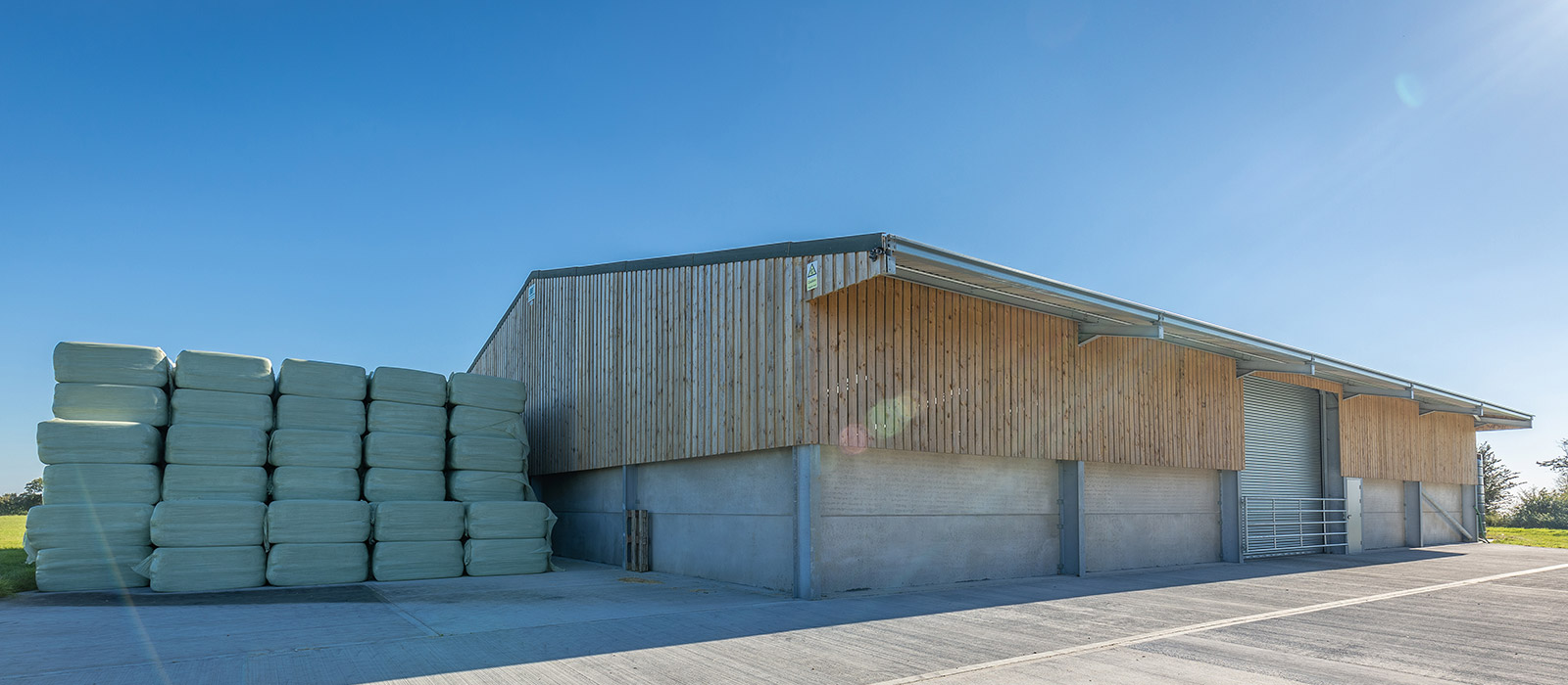 gyd architecture | half clad timber finished agricultural building