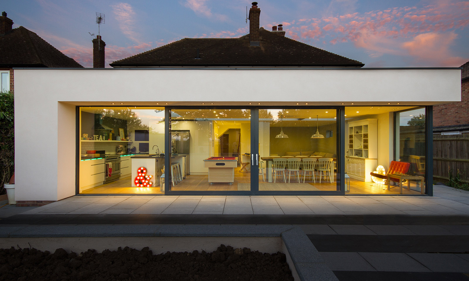 gyd architecture | modern glazed extension