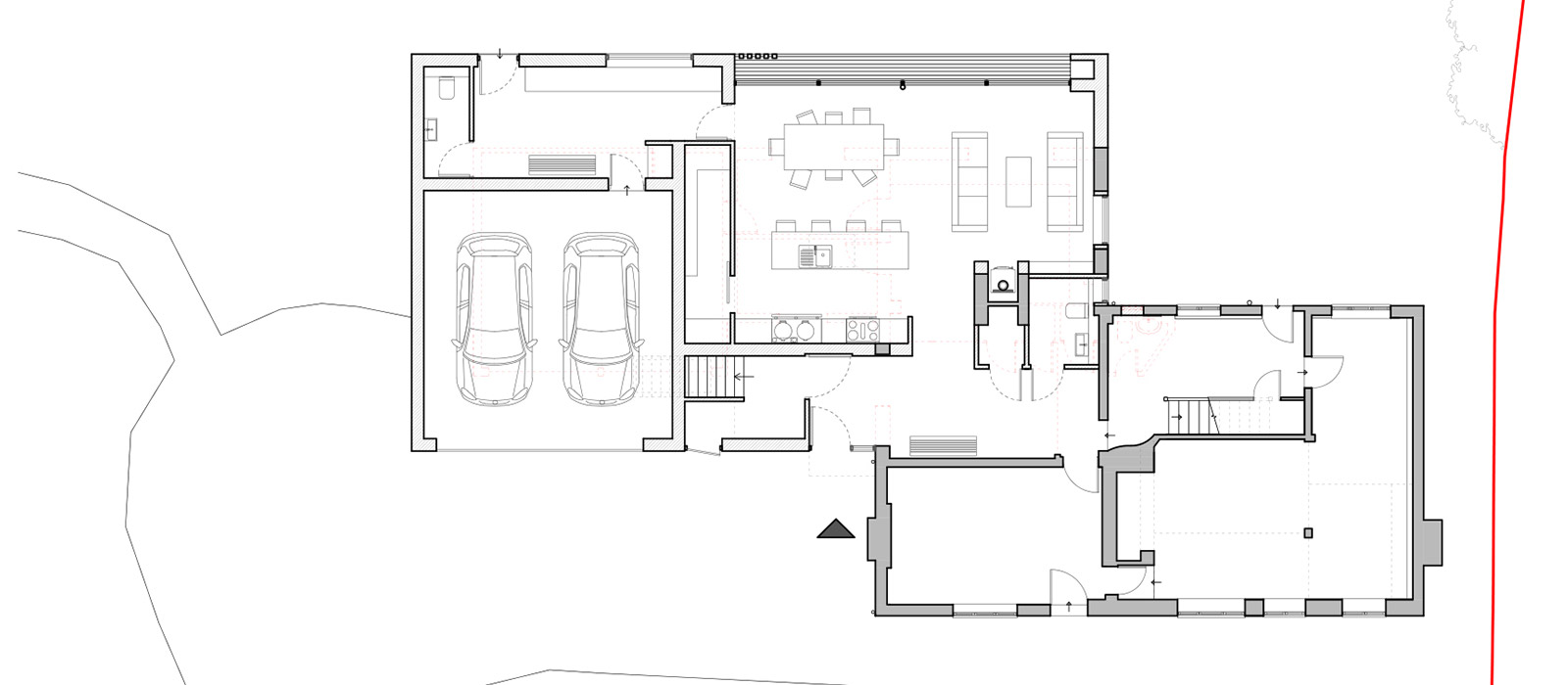 gyd-architecture | Proposed ground floor plan