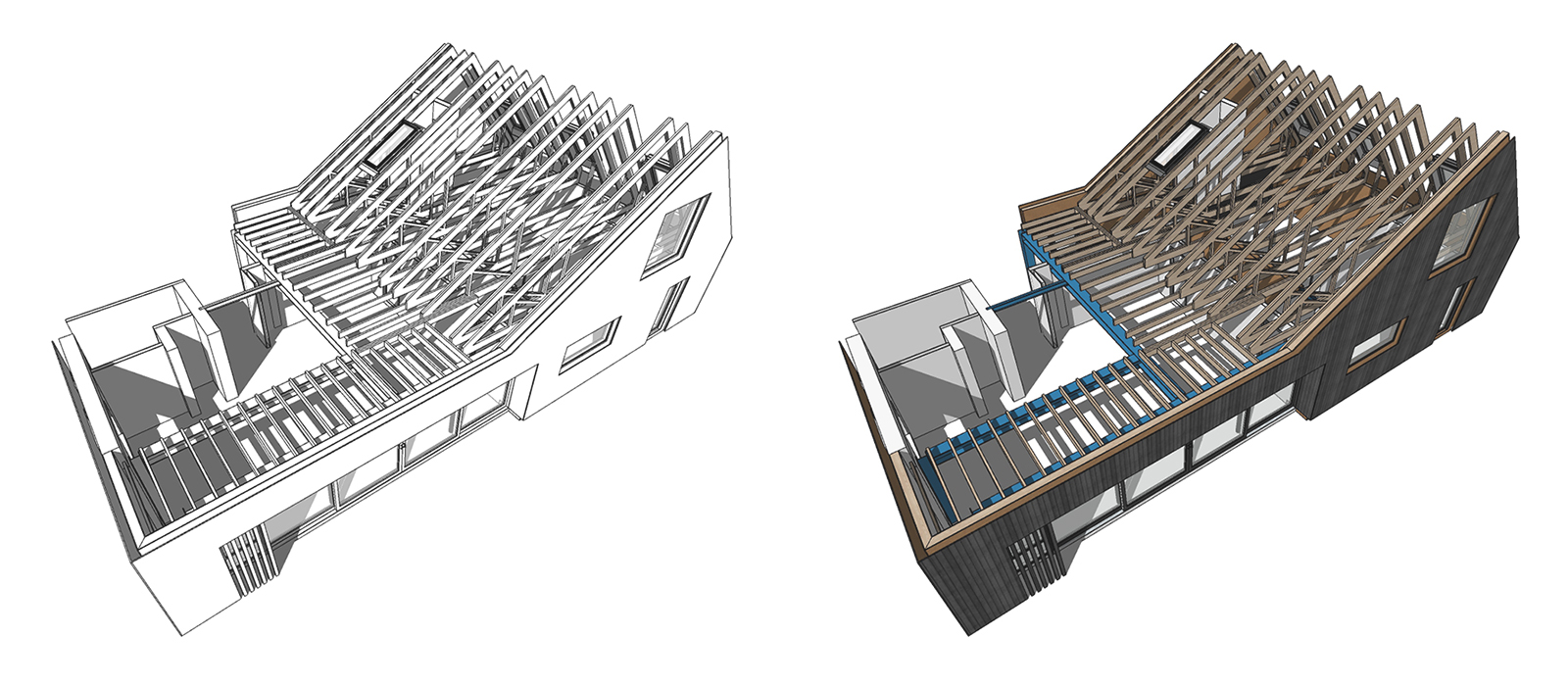 gyd-architecture | 3D model structural design