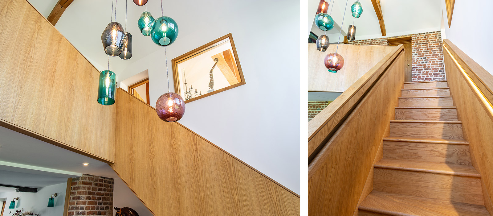 gyd architecture | bespoke lighting and staircase
