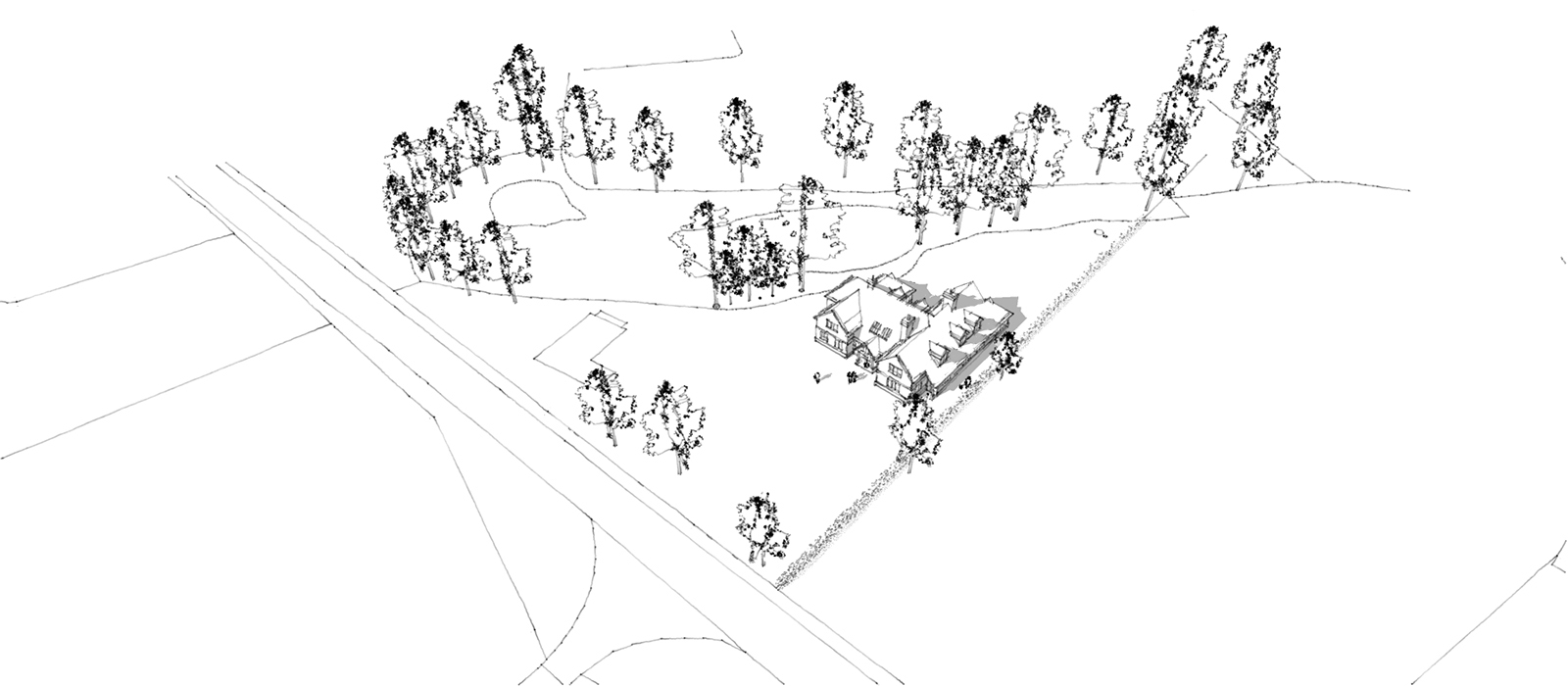 gyd-architecture | Sketch render of site