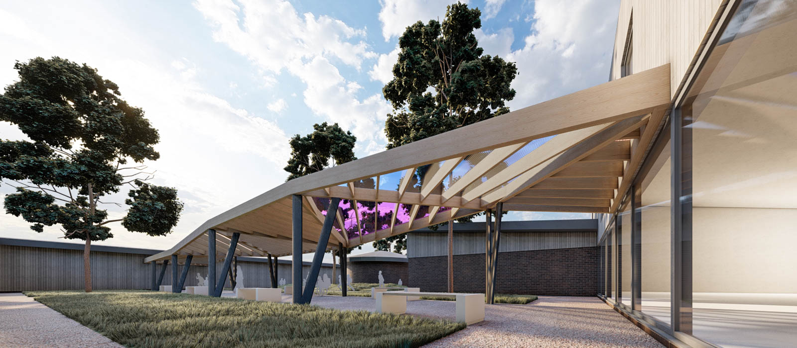 gyd-architecture   organic covered spaces