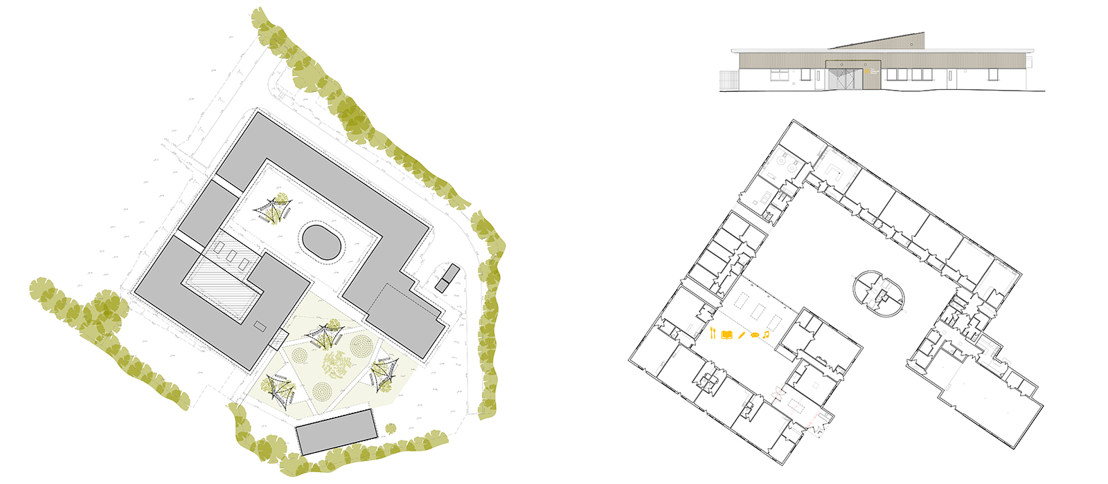 gyd-architecture   plans and elevations